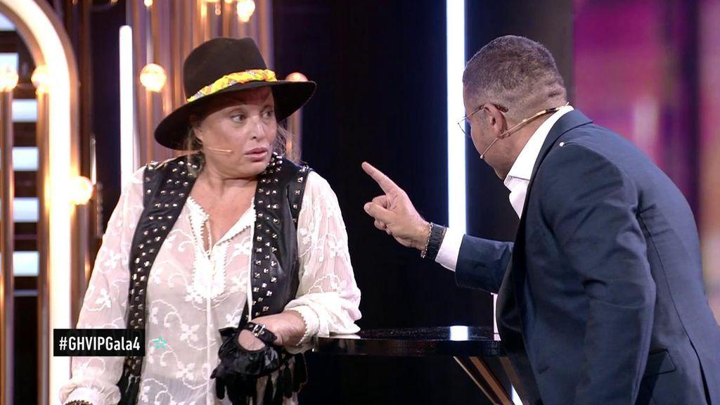 """Jorge Javier abronca a Aramís: """"Te perfilabas como una de las ganadoras y lo has tirado todo por la borda"""""""