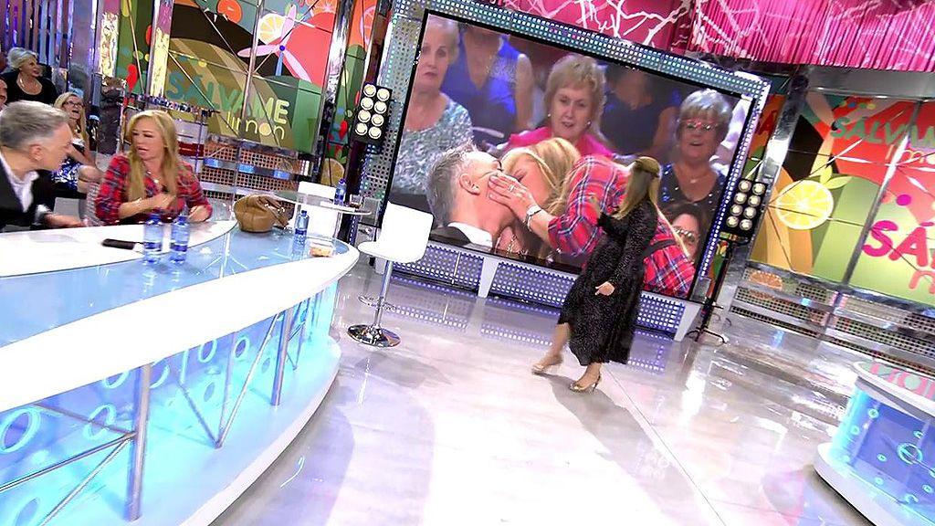 Las emotivas palabras de Belén Esteban con Kiko Hernández acaban en beso