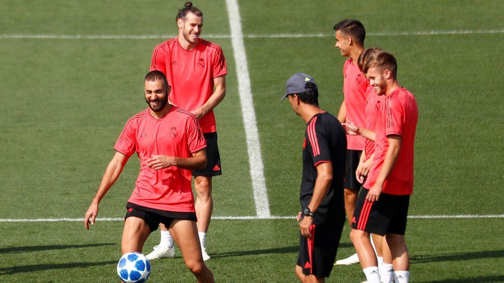 El Real Madrid vuelve a entrenar con una noticia buena y una mala