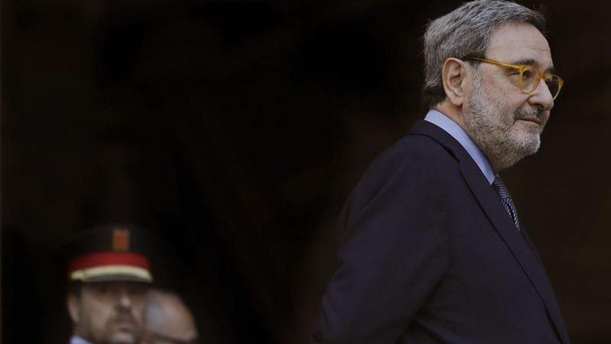 """Narcís Serra, sobre su juicio por Caixa Catalunya: """"Estos sueldos escandalosos no existen"""""""