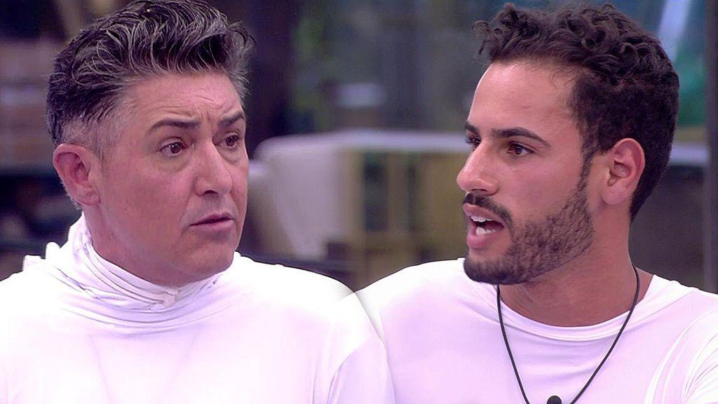 Los concursantes sugieren que Ángel Garó abandone la cocina durante un enfrentamiento con Asraf