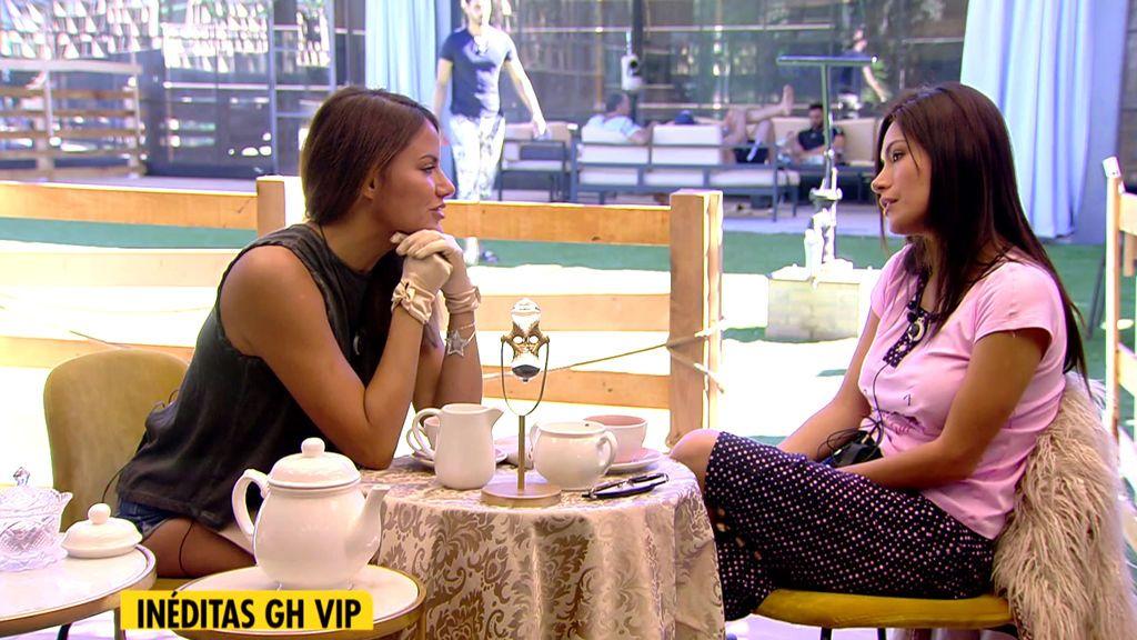 Inédito: Las imágenes del té entre Mónica Hoyos y Miriam Saavedra
