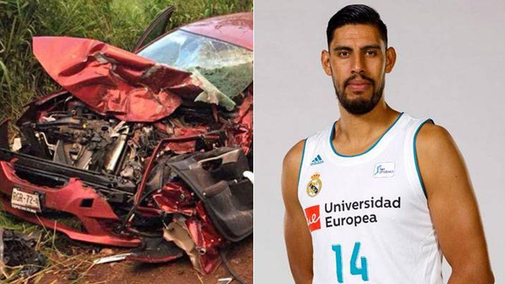 Los padres de Ayón, jugador del Real Madrid, sufren un brutal accidente de tráfico en México