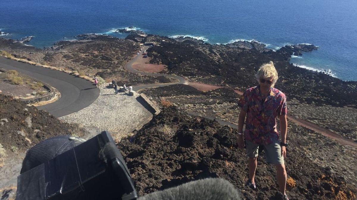 Jesús Calleja viaja a El Hierro para investigar a los zifios, en la próxima entrega de 'Volando voy'