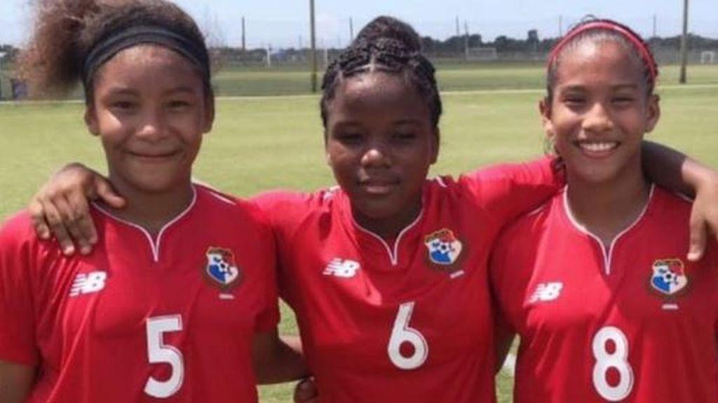 Una niña de 13 años, convocada con la selección femenina absoluta de Panamá