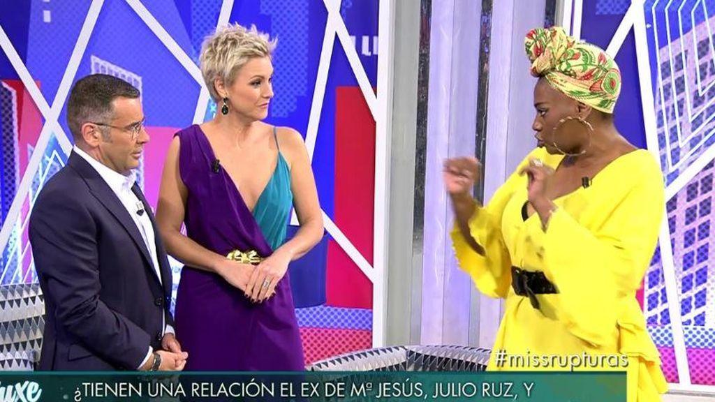 Carolina Sobe le confirma a Mª Jesús Ruiz que ha tenido relaciones con su Julio Ruz