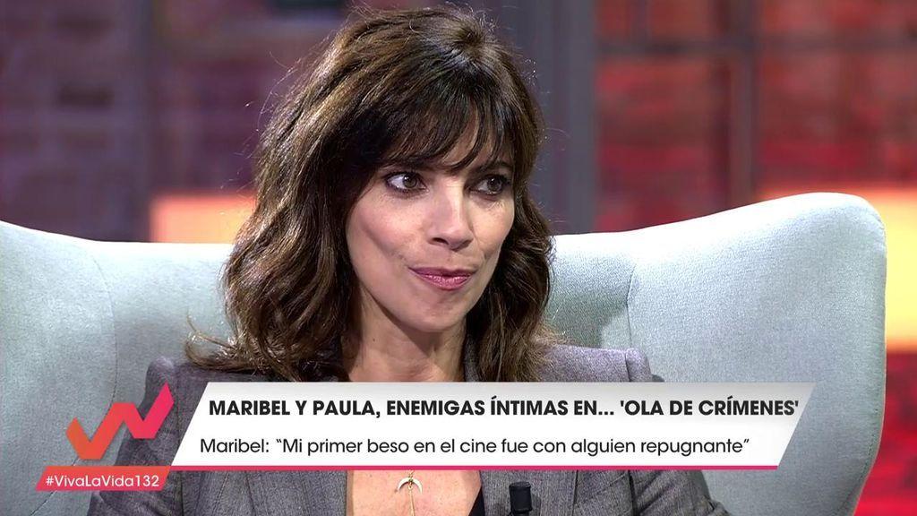 """Maribel Verdú experimentó """"todo"""" antes en el cine que en la vida real: """"Mi primer beso fue con alguien repugnante"""""""