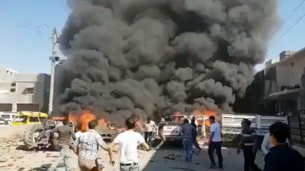 Cinco muertos y 21 heridos en una explosión de una gasolinera de Alepo (Siria)