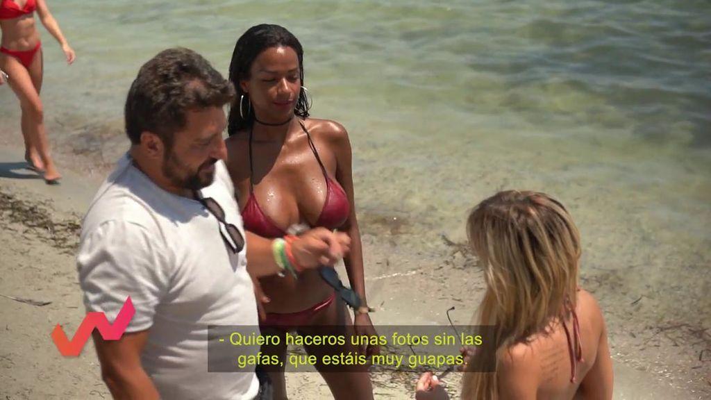 """Liz y Oriana pactan un posado con Sergio Garrido: """"Estas fotos valen 1.500 euros"""""""