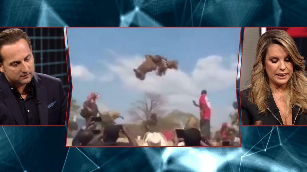 Cuarto Milenio | Un hombre levita durante un ritual de magia ...