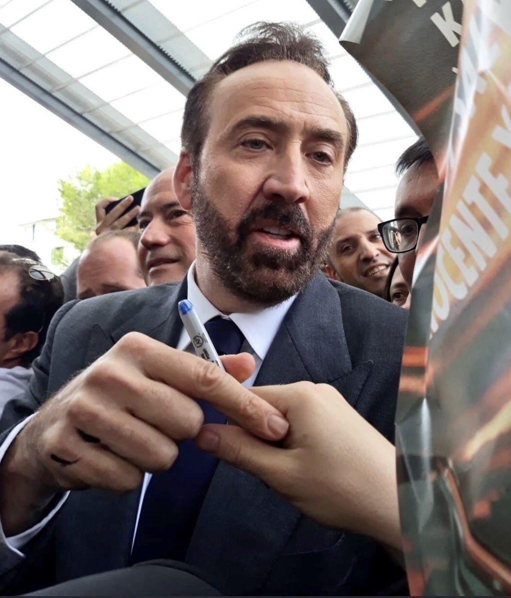 Nicolas Cage y El Rubius, entre los más aclamados en el Festival de Sitges