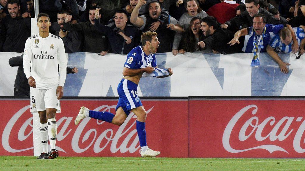 El Real Madrid confirma su crisis ante el Alavés (1-0)