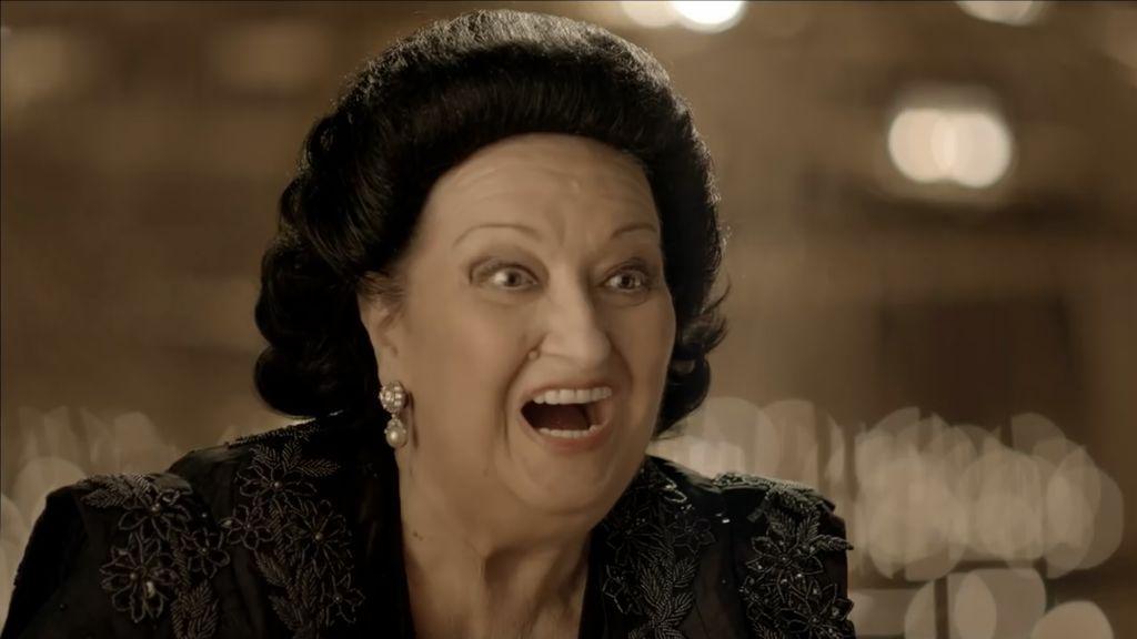 El anuncio de Lotería de Navidad en el que participó Montserrat Caballé con el que ella misma se rió