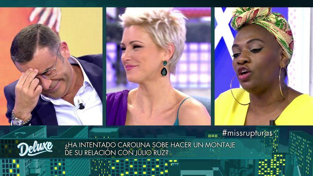 Carolina Sobe y Mª Jesús Ruiz se pican por Julio Ruz y Jorge Javier se parte de la risa