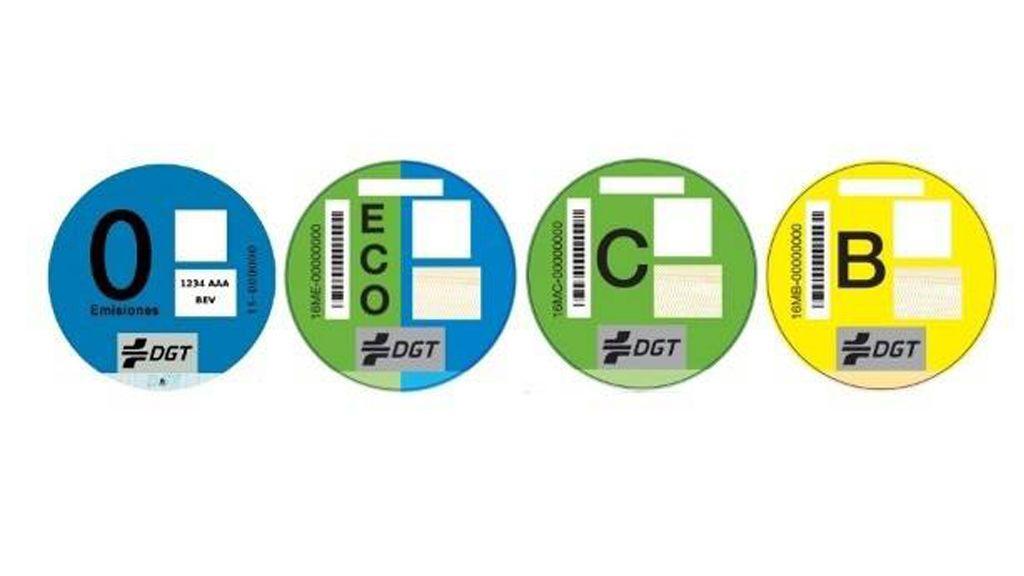 Coloca el distintivo ambiental de la DGT influye en la estética del coche