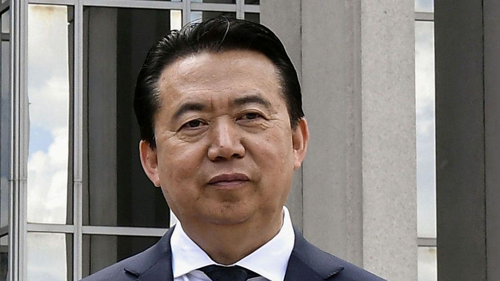 El gobierno chino admite la detención de su jefe de la Interpol