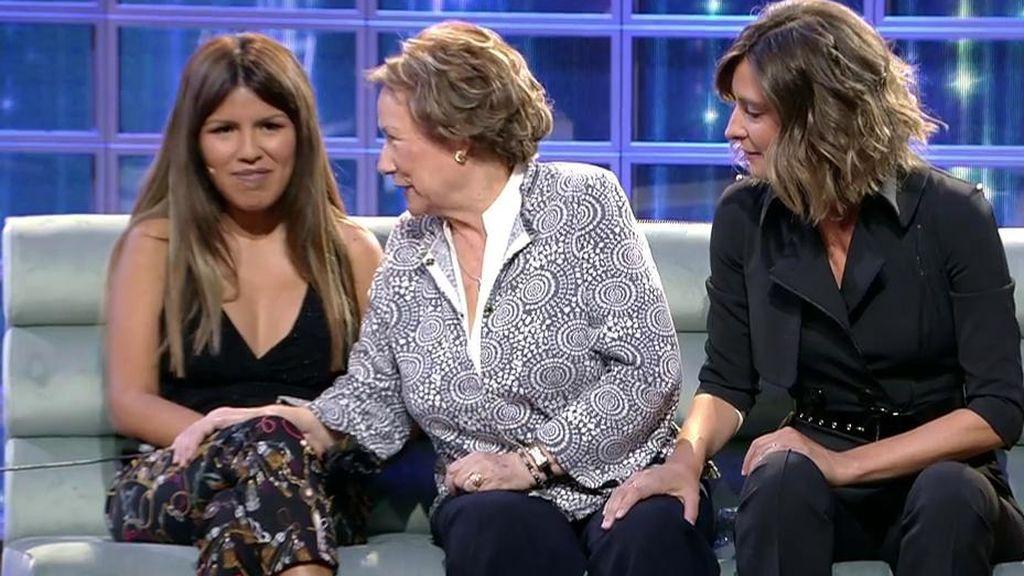 La defensa entre lágrimas de la abuela de Omar... ¡termina en su reencuentro con Isa Pantoja!