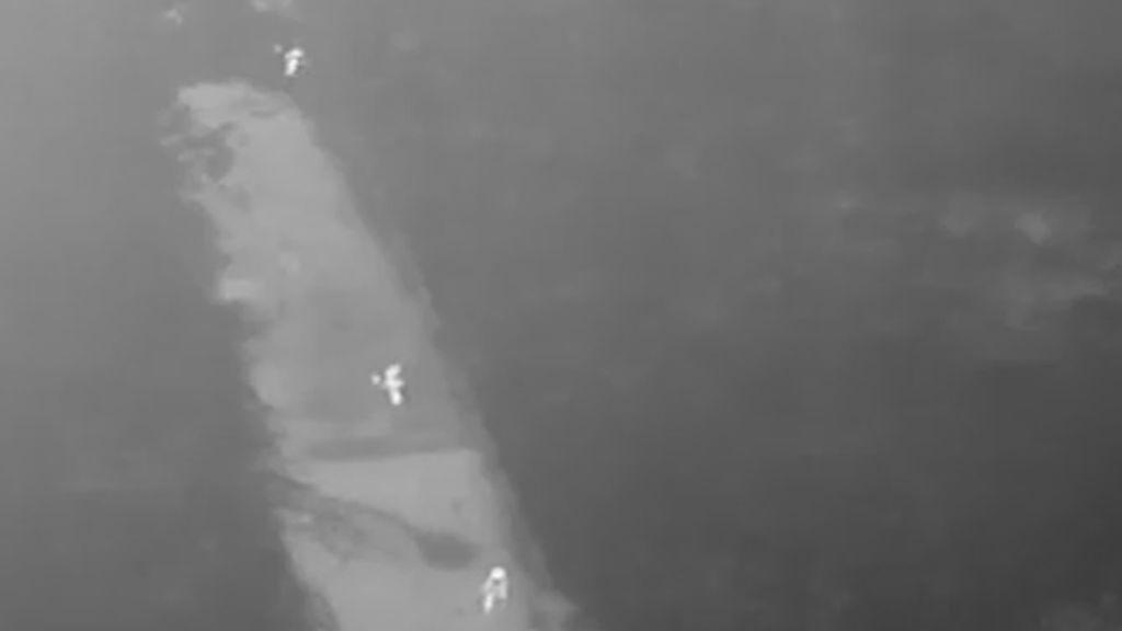 Encuentran a la víctima de una violación gracias a la cámara térmica de un dron