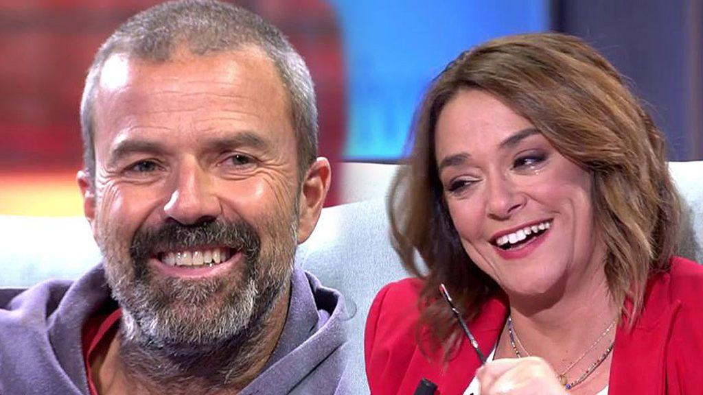 """Toñi Moreno llora con el positivismo de Pau Donés frente al cáncer: """"Yo perdí a mi padre y te lo agradezco"""""""