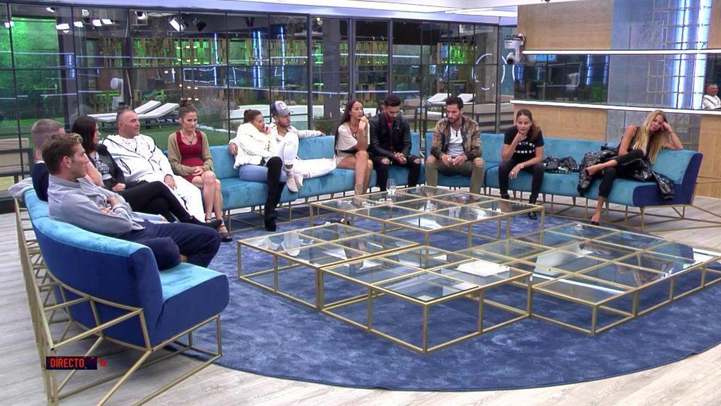 La audiencia de 'GH VIP', a través de la App y web. ha decidido que el equipo de Mónica Hoyos se convierta en empleados