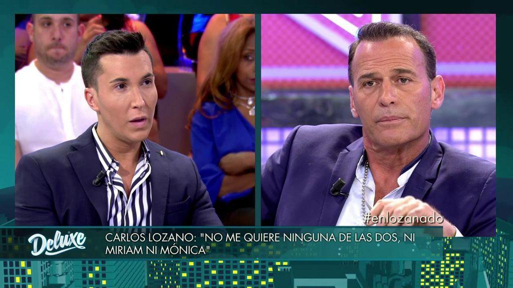 Carlos Lozano estalla: duda ser el padre del hijo que esperaba Miriam Saavedra