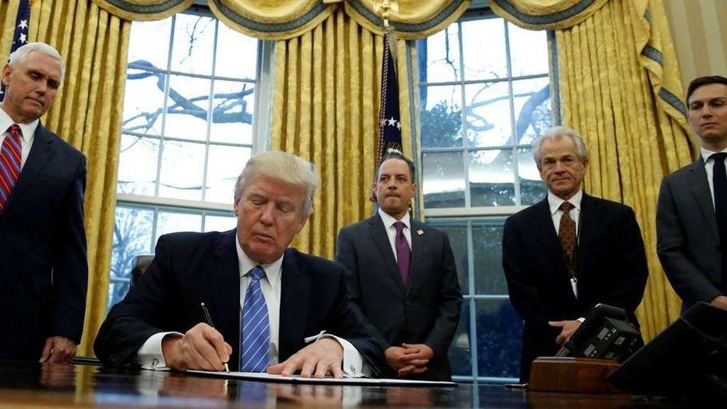 El veto a lo español de Donald Trump, 'En el punto de mira'