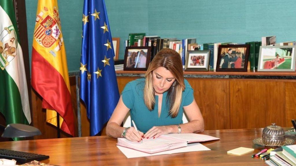 Estas son las tres razones del adelanto electoral en Andalucía...según Susana Díaz