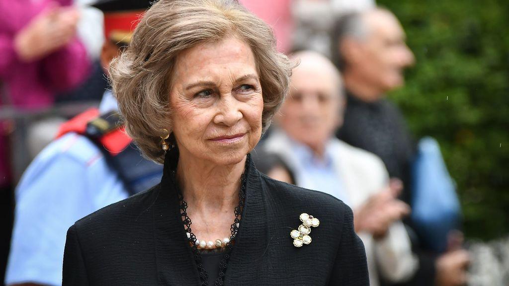 La reina Sofía de Grecia