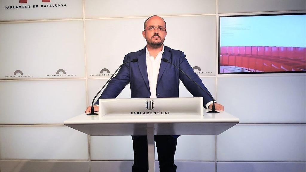 Alejandro Fernández anuncia su candidatura para encabezar el PP catalán