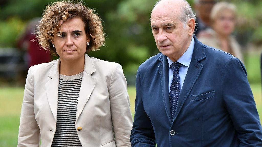 Jorge Fernández Díaz y Dolors Montserrat