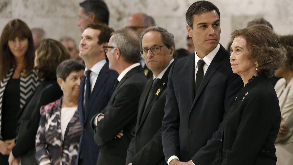 Último adiós a Montserrat Caballé en el cementerio de Sant Andreu