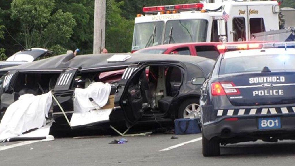 Trágico accidente en Nueva York cuando el chófer de una limusina se saltó un ceda