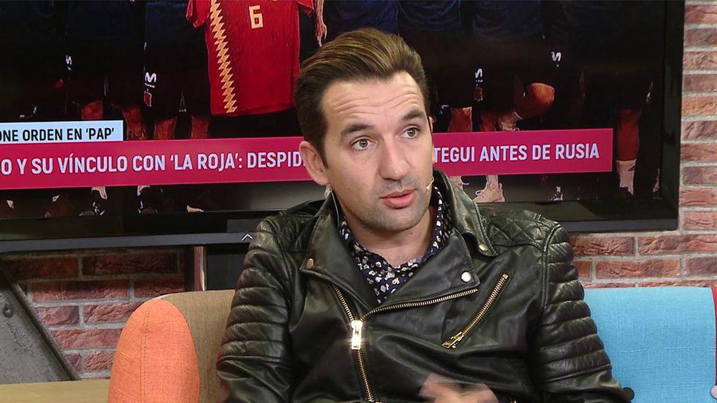 """Miguel Lago, el humorista que actuó para La Roja en privado: """"Asensio es tan guapo que da asco"""""""