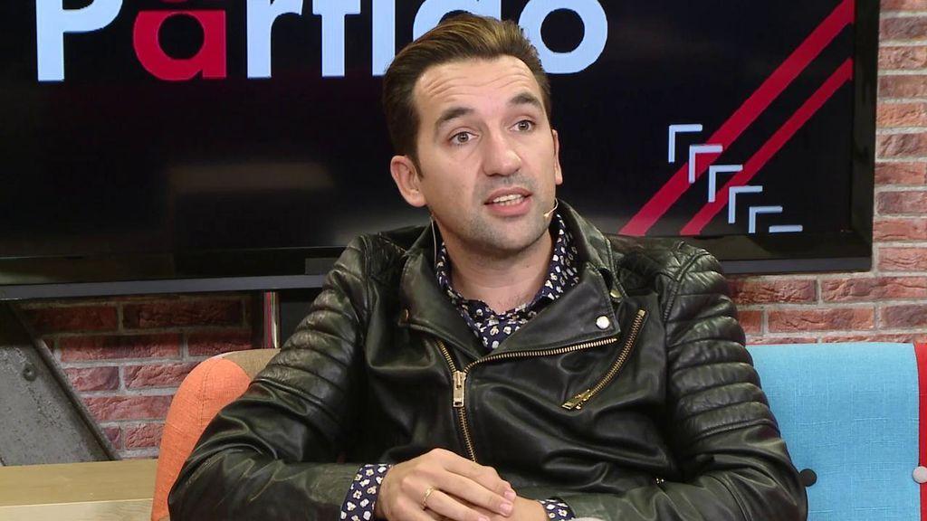 """Miguel Lago, humorista: """"Cuando un sevillano sale gracioso, sale Joaquín... estoy loco por conocerlo"""""""