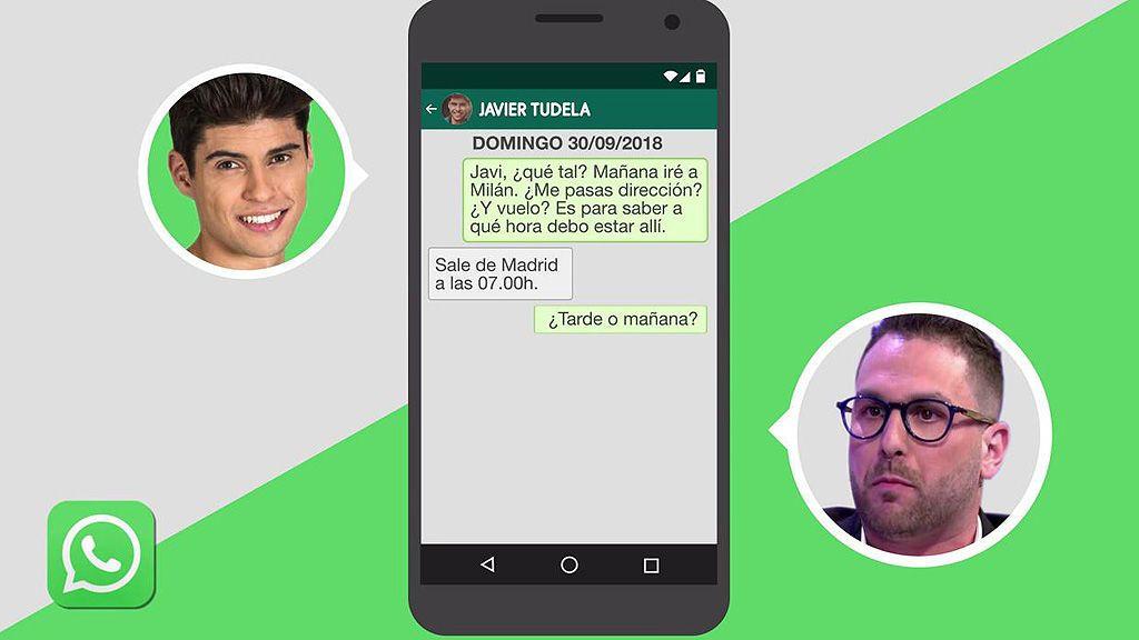 Las conversaciones: Lo que le dijo Javier Tudela al paparazzi Jordi Martín sobre su hermana Anita Matamoros