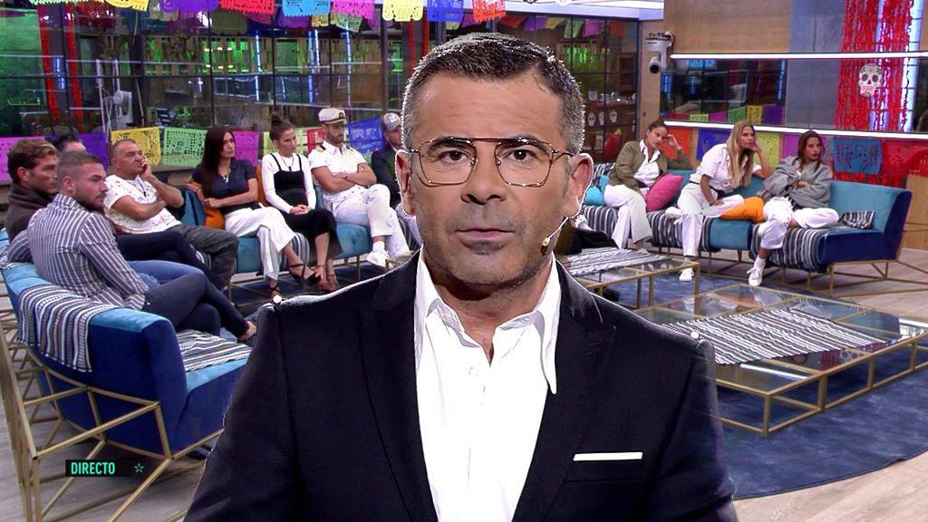 """La petición de Jorge Javier a los concursantes: """"Las bromas contra una persona no hacen gracia"""""""