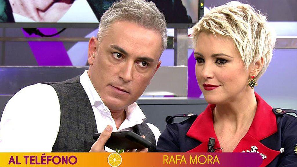 """Mª Jesús Ruiz hace estallar a Rafa Mora en su primer día en 'Sálvame': """"¡Es una mentirosa compulsiva!"""""""