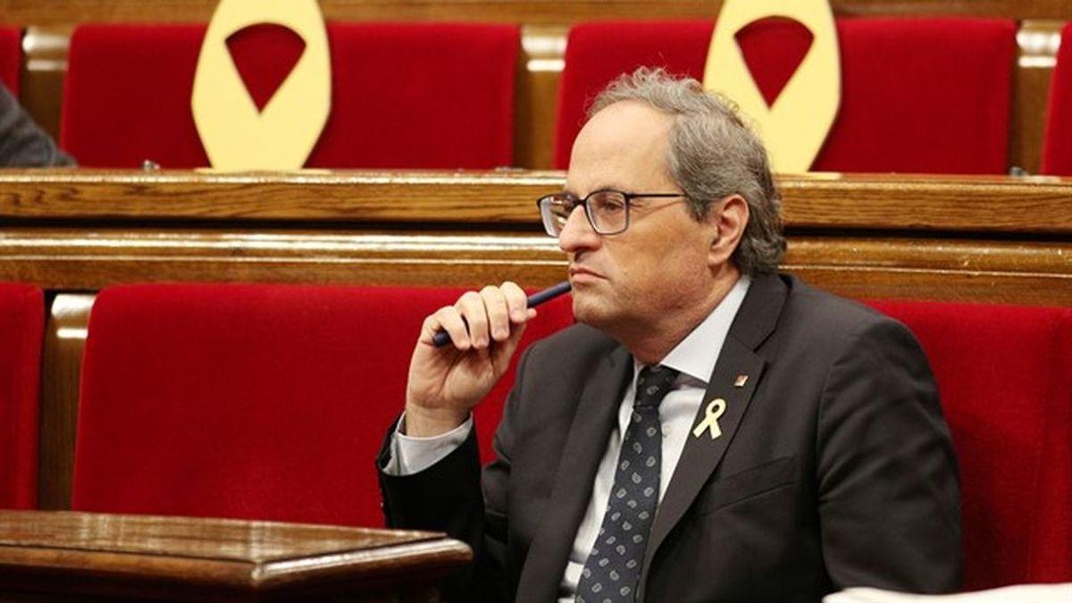 El Parlament rechaza la autodeterminación tras la división independentista