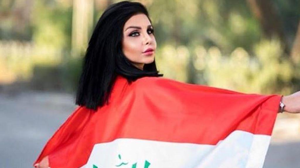 Una cámara de seguridad grabó al asesino de la instragramer iraquí