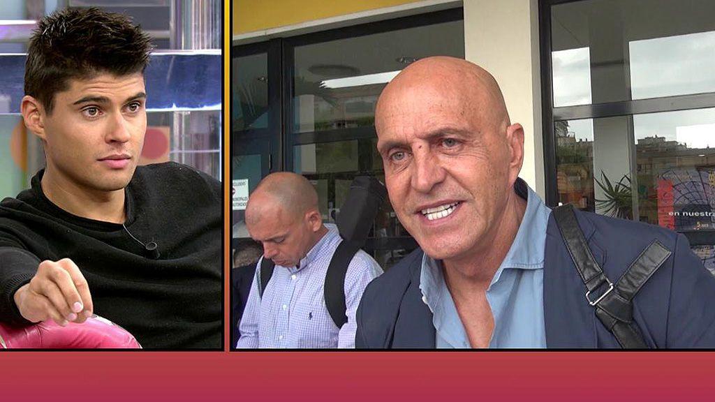 """Kiko Matamoros, ante las explicaciones de Javier Tudela: """"Creo que está mejor calladito"""""""