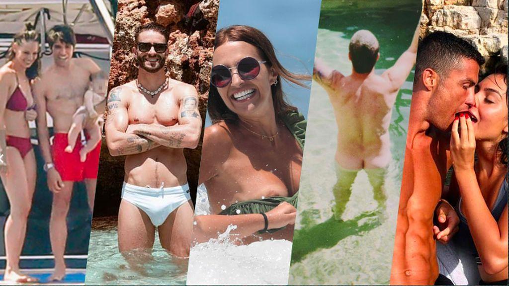 Morriña de verano:  recordamos los 10 momentos top del playeo vip de estas vacaciones
