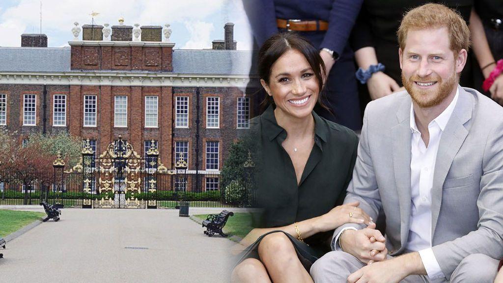 21 habitaciones, jardín para los perros y vecinos de Kate: el apartamento en Kensington al que se mudan Harry y Meghan