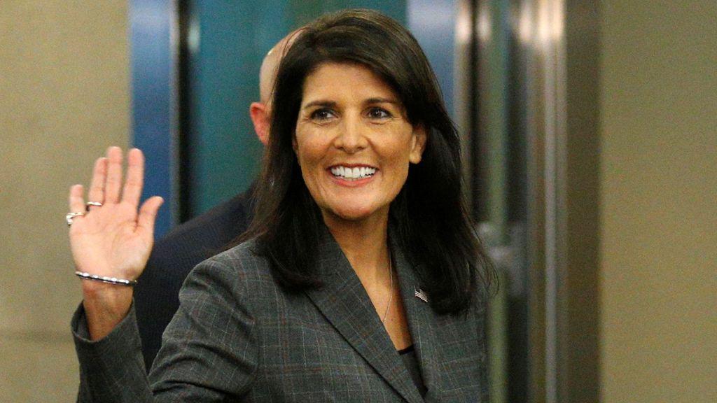 Dimite Nikki Haley, embajadora de Estados Unidos en la ONU