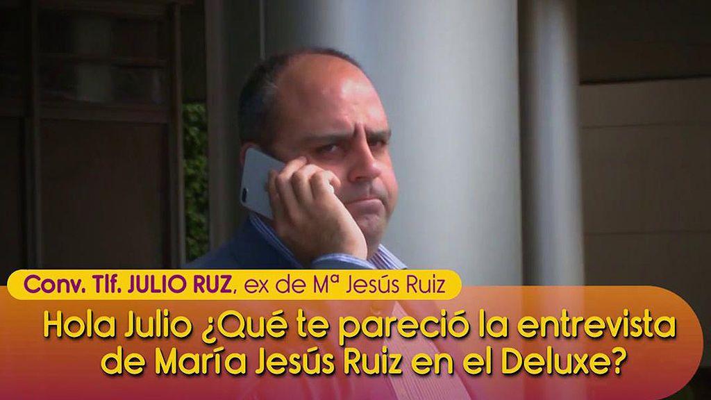 """Julio Ruz responde a su ex, Mª Jesús Ruiz: """"No se pueden decir más mentiras en menos tiempo"""""""