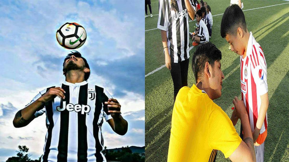 Un falso futbolista mexicano se hace pasar por futbolista de la Juventus y llega a firmar autógrafos por ello