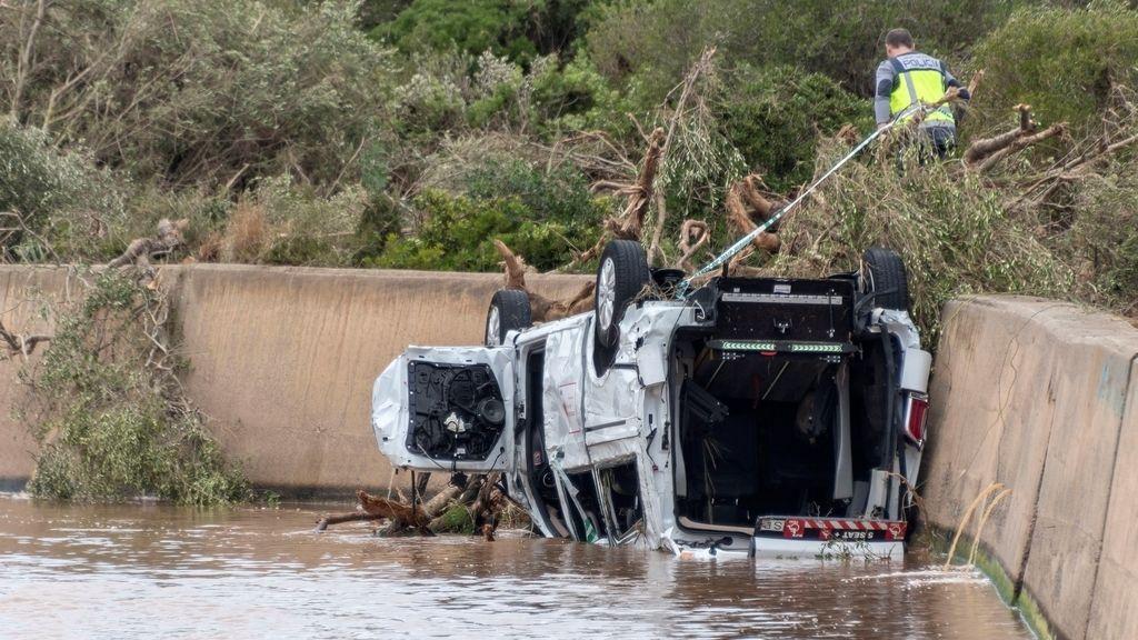 Sigue la búsqueda de desaparecidos tras las inundaciones mortales en Mallorca