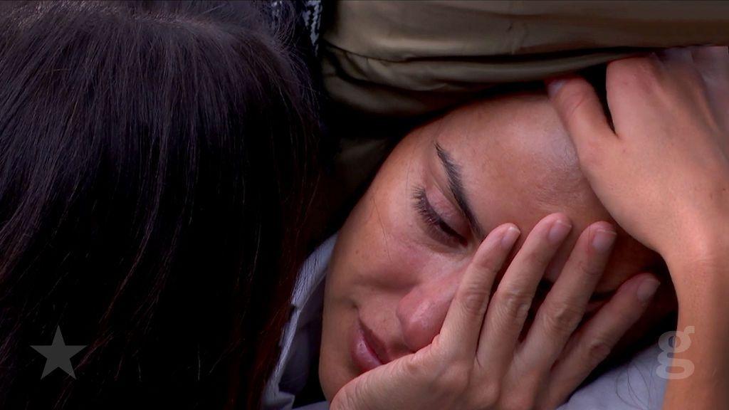 Mónica, derrotada y sin ganas de continuar