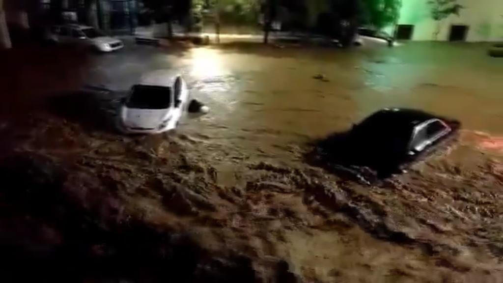 Cuatro muertos tras desbordarse un torrente en Sant Llorenç por las fuertes lluvias