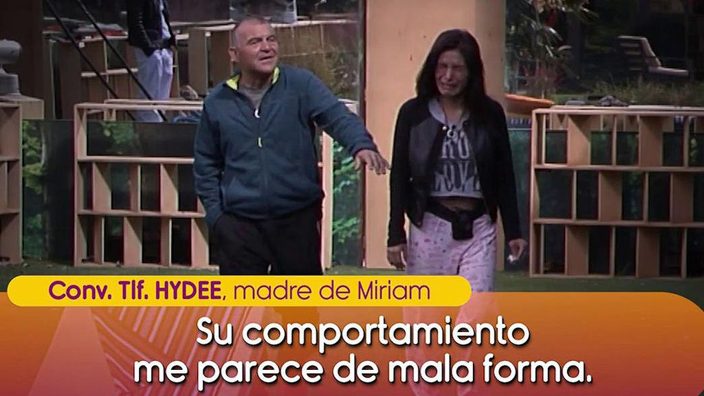 """La madre de Miriam Saavedra ataca a Mónica Hoyos': """"Está mal de la cabeza"""""""