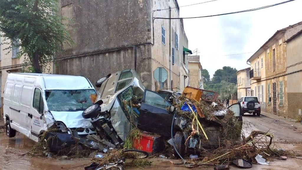 Las imágenes de la tragedia vivida en Mallorca